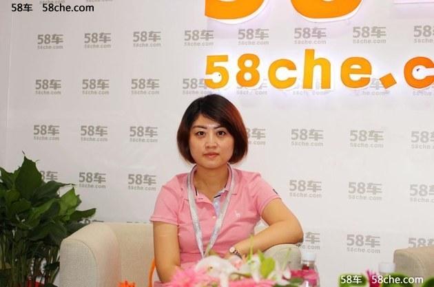 成都车展 访东成安邦长马总经理唐晓燕