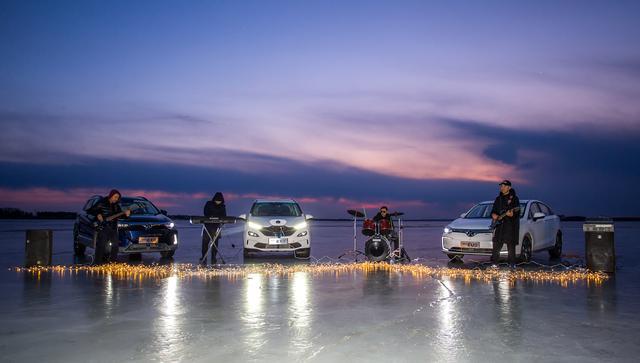 纯电动汽车高寒试验探营,解码北汽新能源EX5、EX3抗低温技术